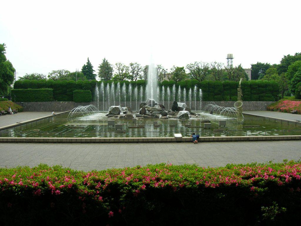 フランケンシュタインの恋公園散歩