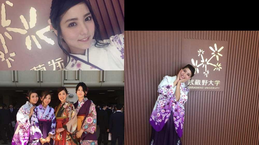 石川恋武蔵野大学卒業式